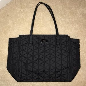 Kate space quilted tote never been used!